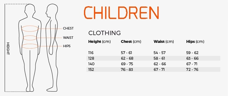 Childrens and Kids Sizing - Stanno