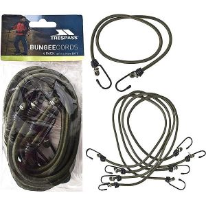 Trespass Bungee Cord (Pack of 4)