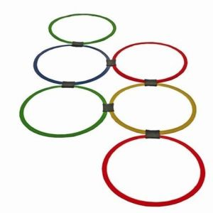 Speed Agility Hoop Ladder Interlocked (12)