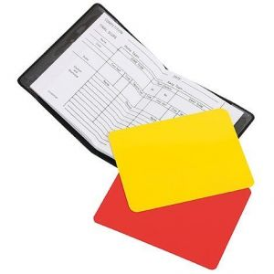 Referee Card Set HOCKEY